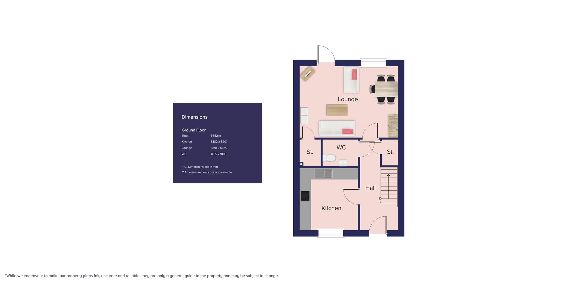 Kingfisher Grange, Bursledon_Plots 115 & 117_GF_B-